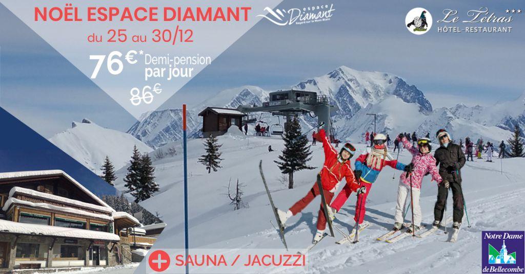 Bon Plan Ski à Noël, demi-pension en hôtel